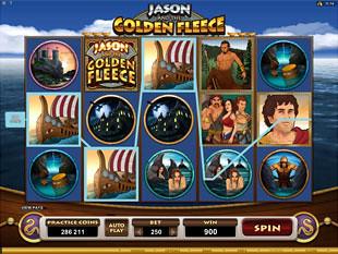 Jason and the Golden Fleece Slot Machine