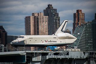 Space Shuttle on Intrepid