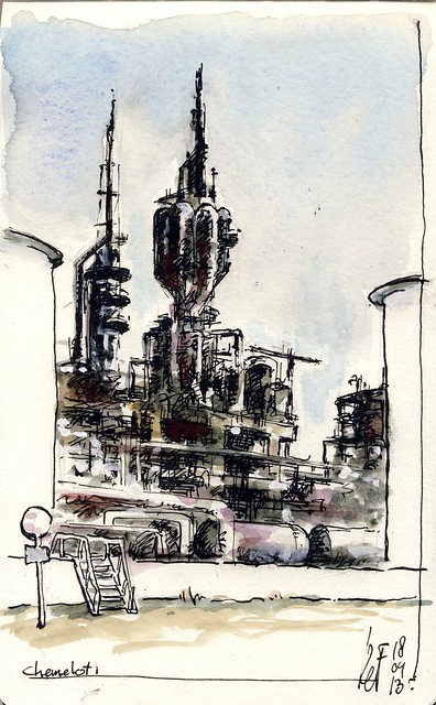 Another drawing at Chemelot