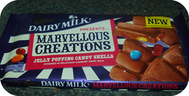 Dairy Milk Marvellous Creations : Jelly Popping Candy Shells