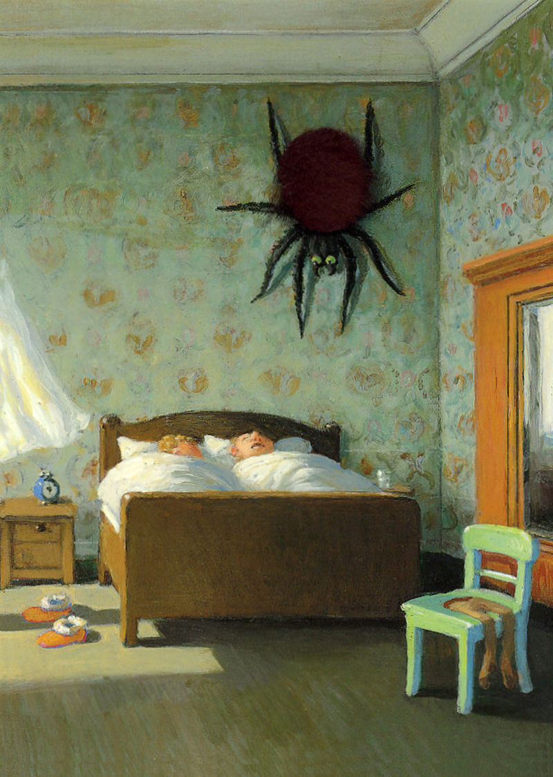 Michael Sowa - Spider On The Wall
