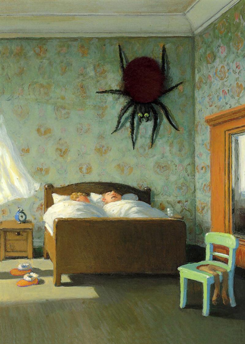 monster brains michael sowa. Black Bedroom Furniture Sets. Home Design Ideas