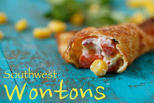 southwest wontons