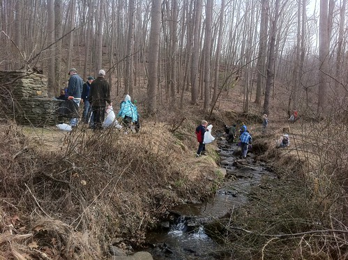 Gunpowder RIVERKEEPER Stream Cleanup with Cub Scout Pack