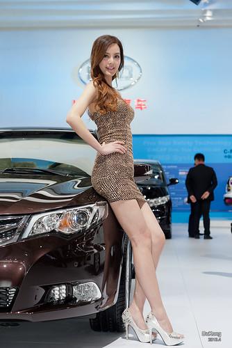 2013上海车展·模特