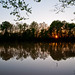 Yazoo River sunset, MS by PabloTashjian