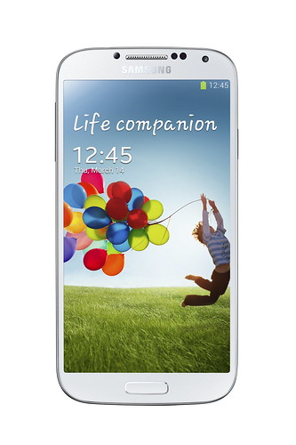 Samsung Galaxy S4 (White Frost) - Front
