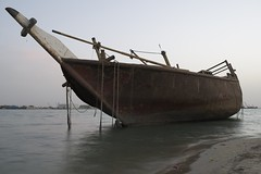 Shipwreck at Doha Kuwait