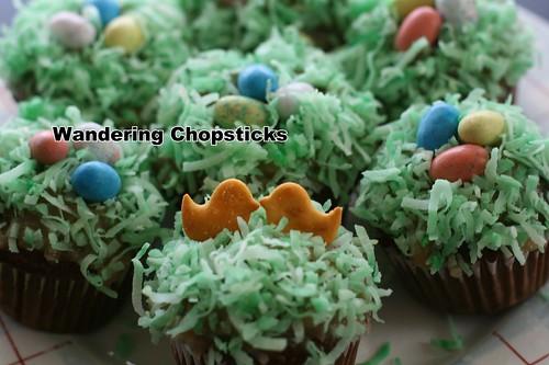 Robin's Egg Nest Easter Cupcakes 2