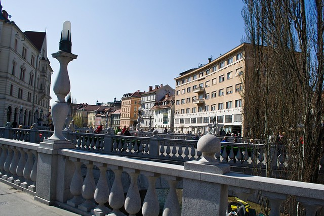 The Triple Bridge - The Bridges of Ljubljana | packmeto.com
