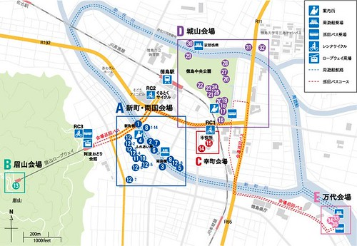 徳島LEDアートフェスティバル2013会場