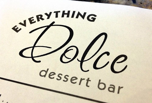 Everything Dolce Dessert Bar