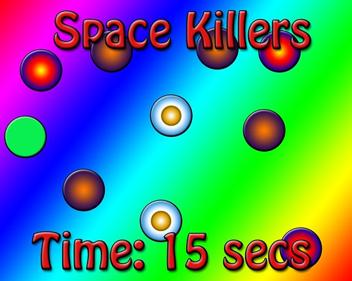 Space Killlers Backdrop