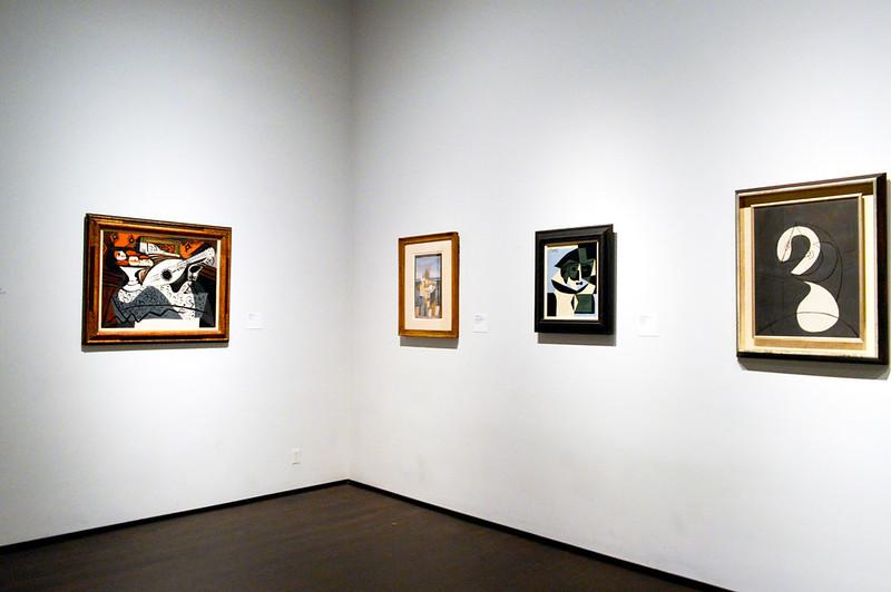 LACMA's permanent modern art