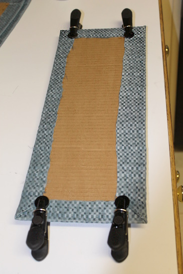 Fabric Lined Shelf, 3