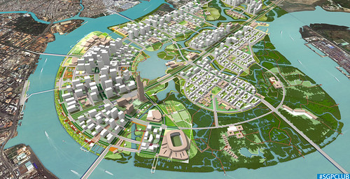 Investment Promotion on Thu Thiem New Urban Area 2013