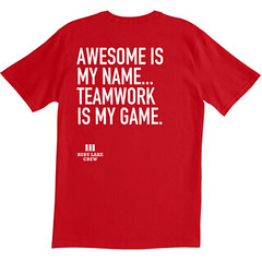 Awesome Is My Name…Teamwork is My Game