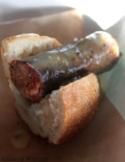 Lamb Merguez Hot Dog - Muddy Leek Invitational