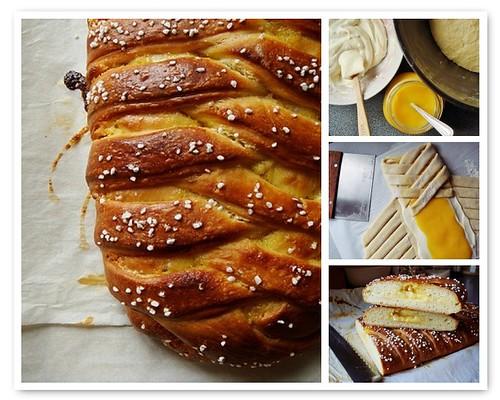 Braided Lemon Bread with Meyer Lemon Curd