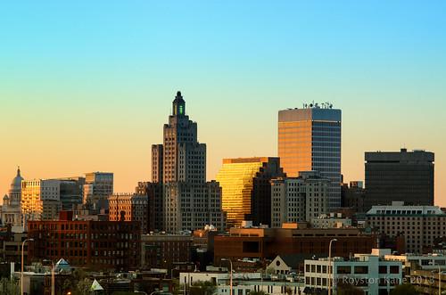 Providence Sunset by Royston_Kane via I {heart} Rhody