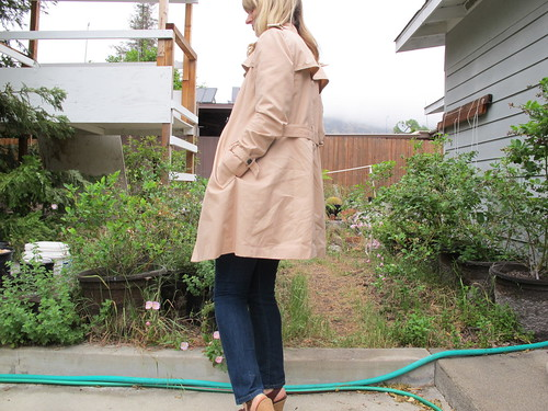trench coat look 1