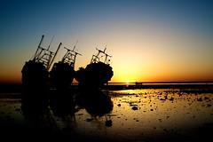 Sunset & Boats 002