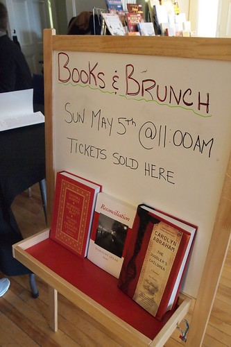 books and brunch signup
