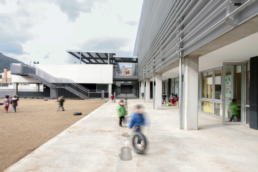 New Cervelló School design by BCQ Arquitectura