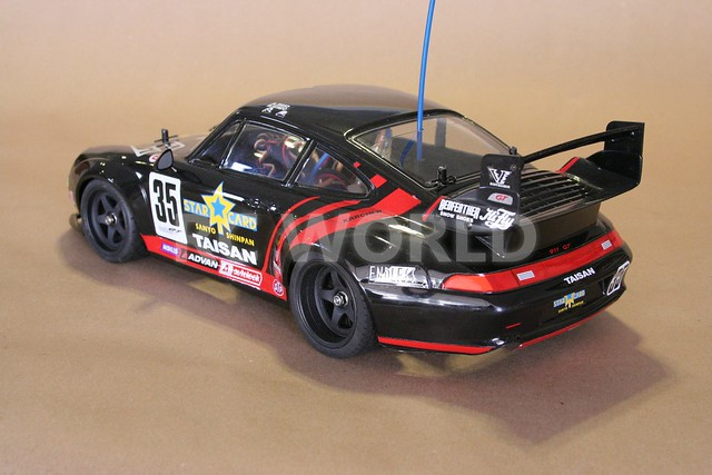 tamiya 1 10 rc porsche 911 gt2 turbo taisan starcard ta02sw flickr photo. Black Bedroom Furniture Sets. Home Design Ideas