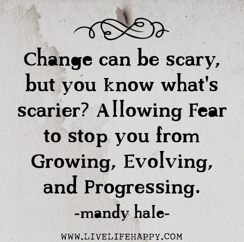 Quotes For Someone Leaving Workplace: Change Can Be Scary
