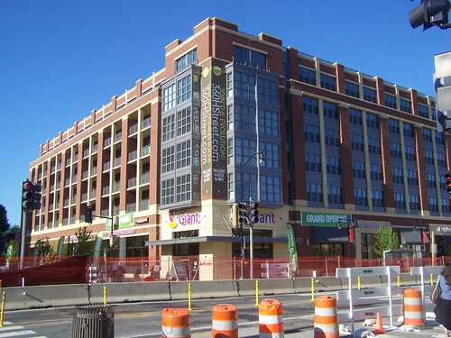 360 Apartment building + Giant Supermarket, 3rd and H Streets NE
