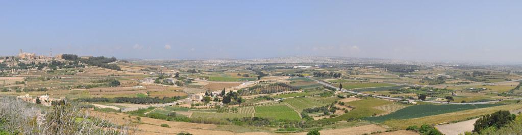 Panorama from Mdina