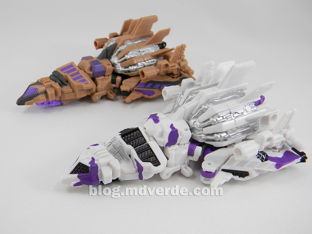Transformers Blast Off Deluxe - G2 Fall of Cybertron - modo alterno vs SDCC