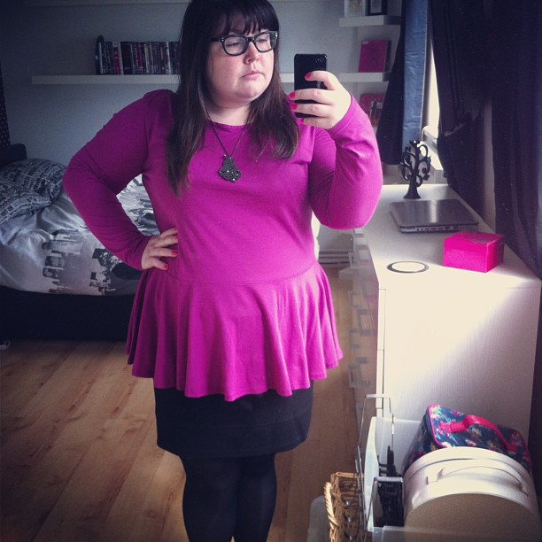 Plain #ootd from me today #fatshion #plussize