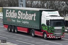 Scania G400 - PK60 SYU - Laura Ann - Eddie Stobart - M1 J10 Luton - Steven Gray - IMG_7547