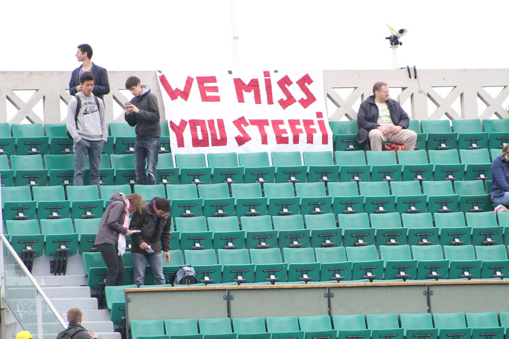 We miss you Steffi