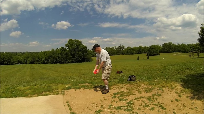 Disc Golf Slow Motion Drives