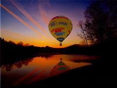Hot air balloons Heißluftballons