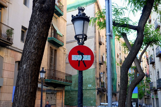 streetart   clet   barcelona