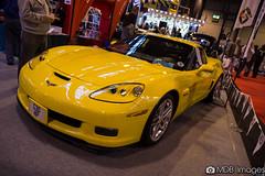 chevrolet(1.0), automobile(1.0), automotive exterior(1.0), exhibition(1.0), wheel(1.0), vehicle(1.0), performance car(1.0), automotive design(1.0), auto show(1.0), chevrolet corvette c6 zr1(1.0), land vehicle(1.0), luxury vehicle(1.0), muscle car(1.0), sports car(1.0),