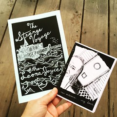 This week's featured #zines from the #grrrlzinesagogo collection for our summer #farmersmarket library in Sandwich, #newhampshire. Thinking of the current flooding in Louisiana makes us all think back to #katrina when these zines were made, one a direct r
