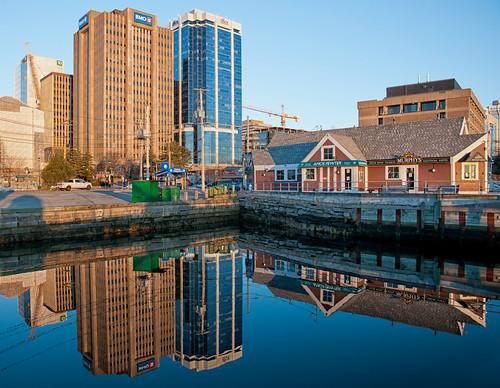 reflections nikon waterfront ns halifax d90 nikon1685mmvr