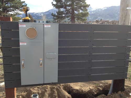 400 Amp Panel with Meter