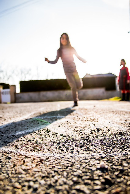Street Scenes : Hopscotch - Marelle