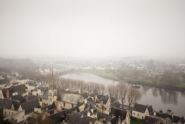 View of Chinon from the Forteresse