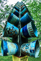 Bucket thing at the Art Park