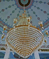 ceiling, chandelier, lighting, dome,