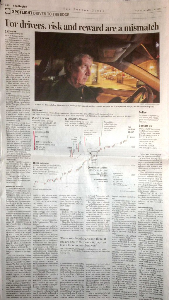 Boston Globe Spotlight: Driven to the Edge - Apr 2, 2013, 2-40 PM