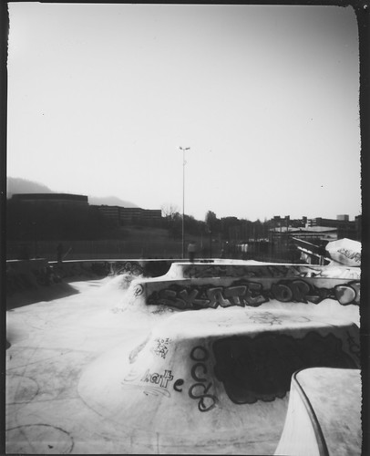 Freestyle Pool (4x5 Pinhole Camera)