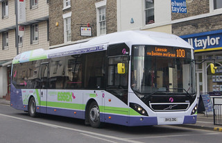 First Essex new Volvo 7900H hybrid buses (c) David Bell